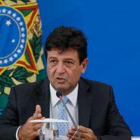 Coletiva de Imprensa do Presidente da República, Jair Bolsonaro e Ministro da Saúde, Luiz Henrique Mandetta.