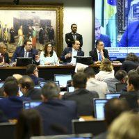 Sessão da Comissão de Constituição e Justiça e de Cidadania (CCJ) da Câmara dos Deputados para analisar e votar o parecer da proposta de emenda à Constituição da reforma da Previdência (PEC 6/19), do deputado Delegado Marcelo Freitas.