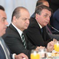 (Brasília - DF, 01/09/2020) Reunião com Luiz Eduardo Ramos, Ministro-Chefe da Secretaria de Governo da Presidência da República e Parlamentares. Foto: Marcos Corrêa/PR