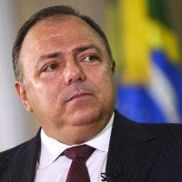 O ministro da Saúde, Eduardo Pazuello, durante entrevista ao programa Brasil em Pauta.